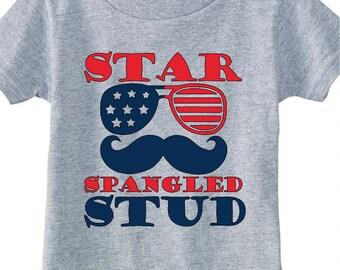 Star Spangled Stud T Shirt