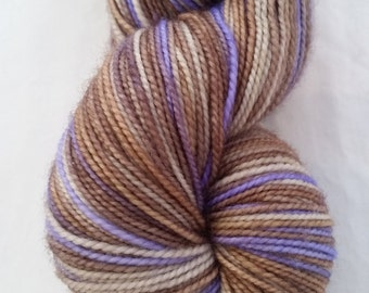 Crying in the Rain on Desmos Sock - Hand dyed fingering weight yarn