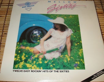 LP - Baby Boomer Classics - Mellow Sixties - Various Artists - Factory Sealed - 1985