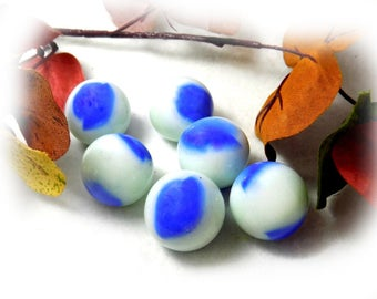 Shooters, glass marble , Vintage Glass Marble - Agate marbles - marble lot -  game marbles - Large Marbles, # 14