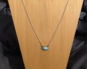 Marbled Mint Howlite necklace