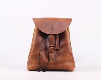 Charlotte Mini Backpack (Honey)