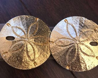 MiMi Di N. 1974 Gold Sand Dollar Belt Buckle