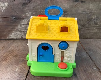 Vintage Fisher Price Toy Cottage