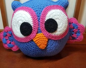Ollie the Owl Pillow