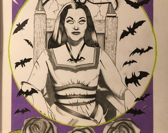 Lily Munster (print)