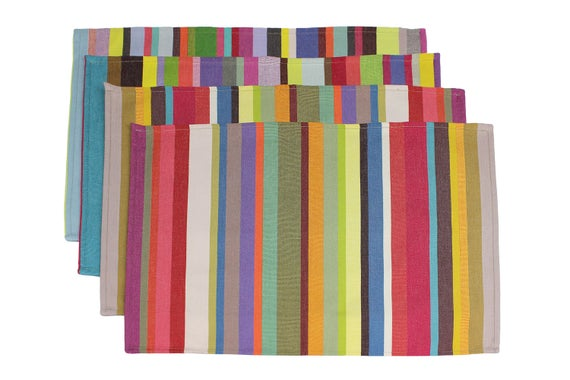 BonMarcheOnline French Stripe Placemats