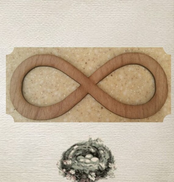 Infinity Symbol Large Wood Cut Out Laser Cut