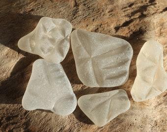 patterned sea glass, Scottish sea glass, beach glass finds, seaglass, pattern seaglass, , sea glass beads, surf tumbled glass, (lt128)