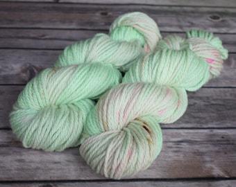 Hand Dyed Yarn, Bulky, Superwash - Marshmallow