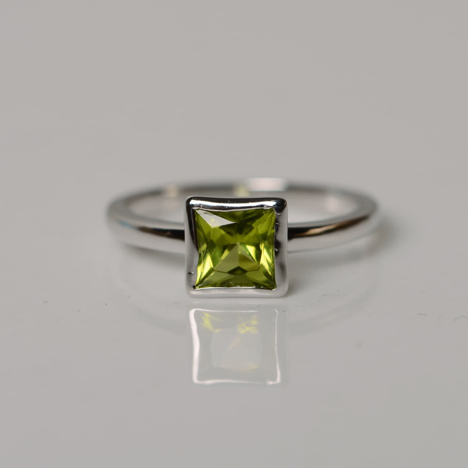 recycled gemstone silver genuine rings by engagement etsy on ring jewelrybymatt round sterling birthstone august peridot pin