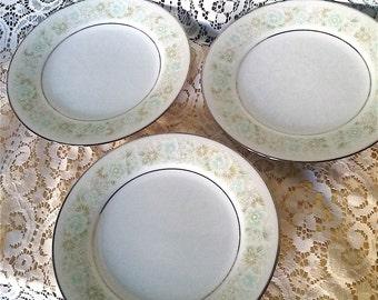 Noritake Saucer Plates 2158 Paula