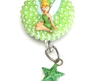 Retractable Badge Reel - Tinkerbell