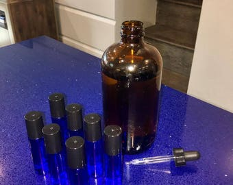 Natural Essential Oil and/or Phthalate Free Fragrance Oil Roll On Perfume