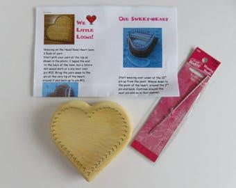 Hazel Rose Loom Kit - Sweetheart Loom - LARGE - Maple