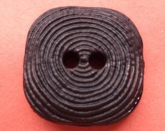 14 buttons 17mm dark brown (658) button