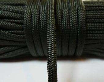 Paracord 550, Khaki green rope, cord 4 mm, 7 strands per meter
