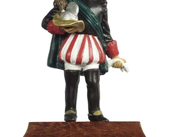 54mm scale Hugh O'Neill Painted Pewter figure - IHP4