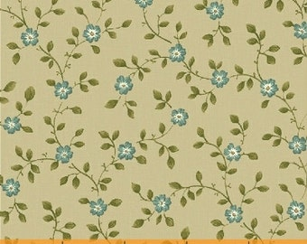 Floral Vine (Green) - Secrets & Shadows - Nancy Gere - Windham Fabrics