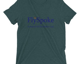 Women's Short Sleeve T-Shirt Blue Logo