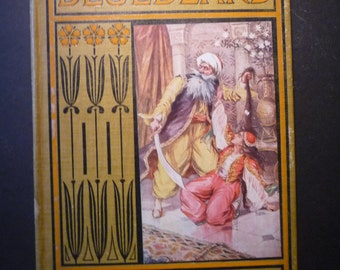 Antique - Tales of Bluebeard - 1905 edition - many illustrations by J Watson Davis- A L Burt publisher - First edition - Rare childrens book