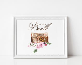 Wedding Photo Booth Sign   Wedding Photo Booth Signage   NO FRAME, Style #2171
