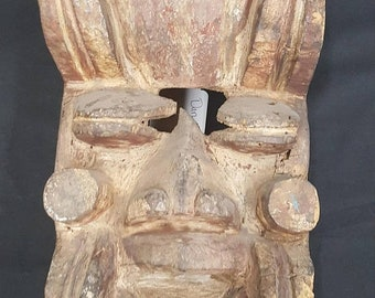 ON SALE Antique Dan Guere Tribal Mask Of The Ivory Coast