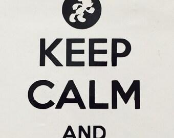 Keep Calm and runDisney Decal