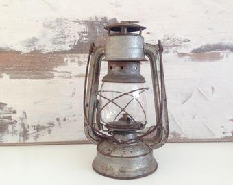 Vintage Oil Gas Lamp - old Chinese salt gas