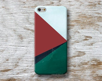 Geometric Marsala Phone Case for iPhone 4 4s 5 5s SE 5C 6 6S 7 8 PLUS X iPod Touch 5 6 Oneplus 2 3 5 1+2 1+3 1+5