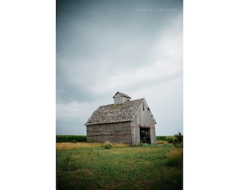 Barn Photography Rustic Decor Farmhouse Art Landscape Architecture Illinois Old Barn Midwest Farm