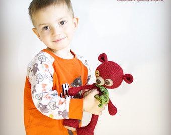 Kristoffer - Original Handmade Teddy/Bear/Toy/Collectable/Gift/Charm