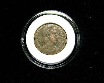 roman coin 275 -370 a.d.
