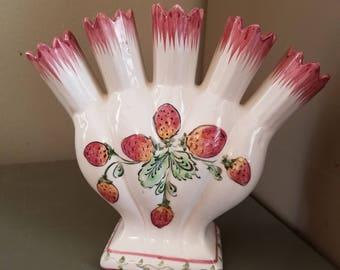 Fluted Finger Vase