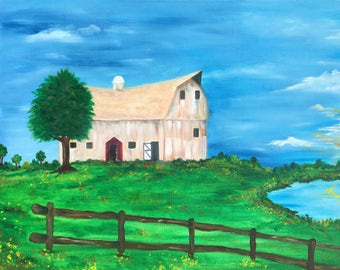 Great Grandpa's Barn