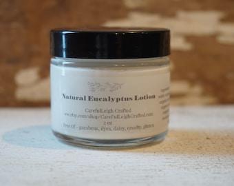 Natural Eucalyptus Lotion