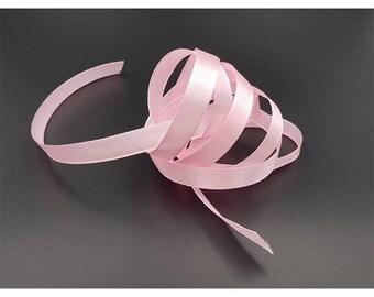 22 metres Pink Ribbon Satin 10mm