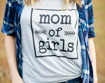 Mommy and me, Mothers Day Gift, Gift for mom, mom gift, New mom gift, Mom of Girls Shirt, Girl Mom shirt, Mom to Girls,mothers day gift idea