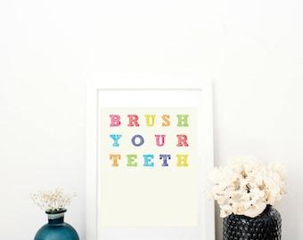 Brush Your Teeth Digital Download