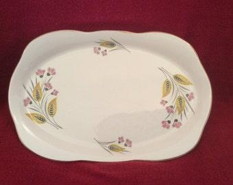 Alfred Meakin Thistle Sandwich Plate