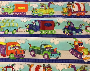 Adorable Trucks Kid Weighted Blanket/ Construction vehicles/calming/autism/aspergers/OCD/ADHD/anxieties/Sensory processing