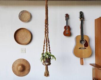 Macrame Plant Hanger // Jute, Handmade