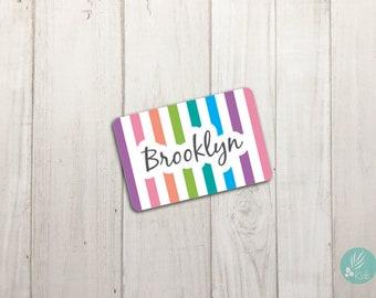 Personalized Magnets, Locker Magnet, Name Magnet for Chore Chart, Custom Fridge Magnets, Kids Name Magnets, Artwork Display Magnet
