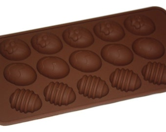 TAAVI Decorated Eggs Silicone Candy Mold (T-827)