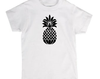 Pineapple Trendy Infant Kids Toddler Youth Children T Shirt Many Sizes Colors Custom Jenuine Crafts