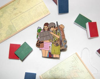 Limited Edition Wes Anderson inspired Moonrise Kingdom Pin