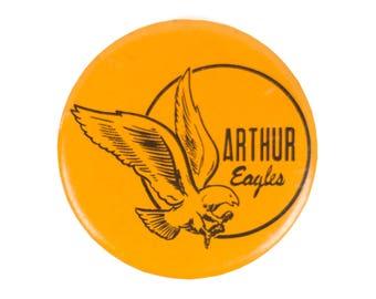 "3"" Arthur Eagles Pin"