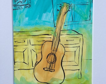Whimsical Acoustic Guitar