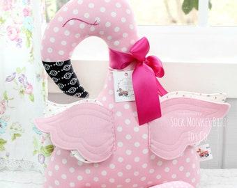 Flamingo Plush Fabric Rag Doll