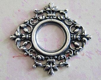NEW Ornate Silver Setting 1407O